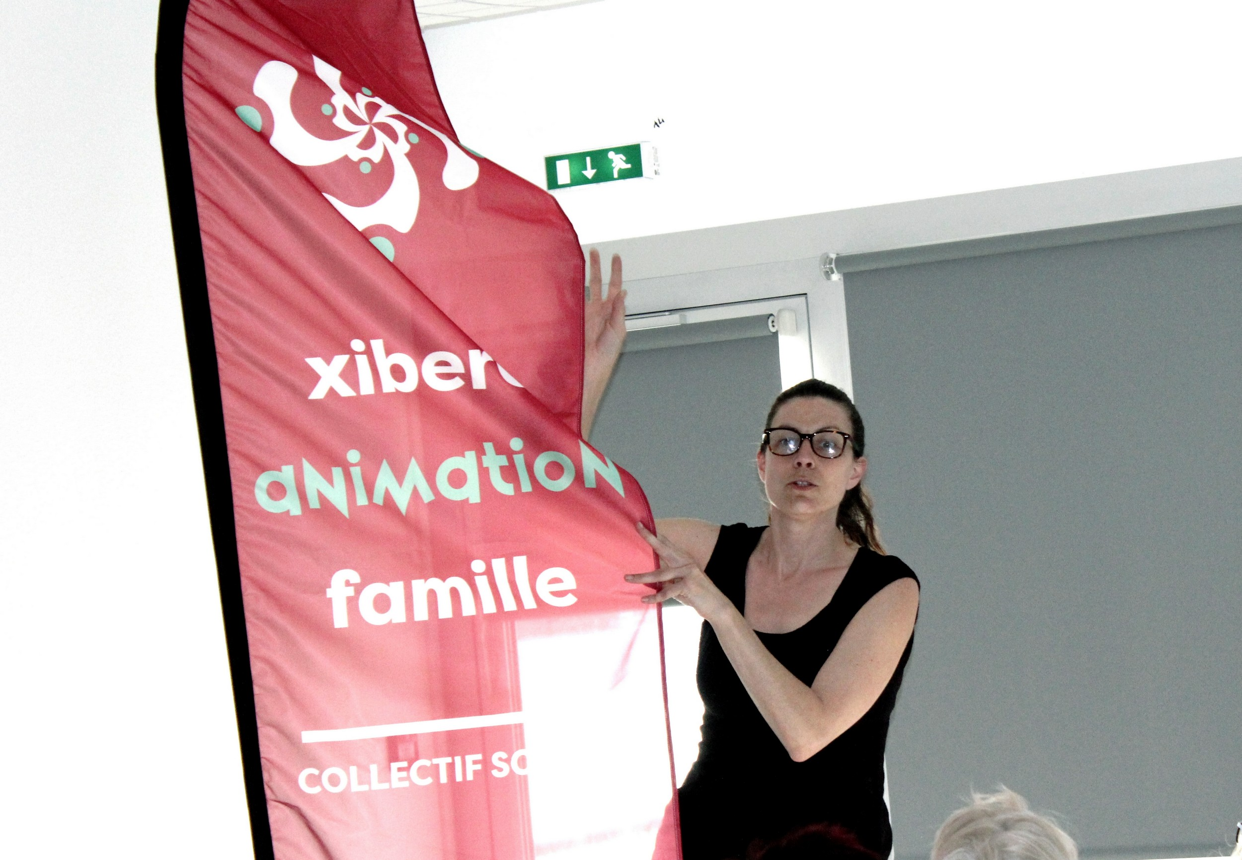 "Adio ""Collectif Souletin"", onki jin ""Xiberoa Animation Famille""."